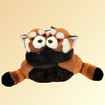 Fiesta Best Friends Fur-Ever Stuffed Plush Red Pandas