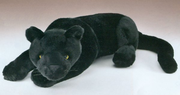 Wildlife Artists Stuffed Plush Black Panther