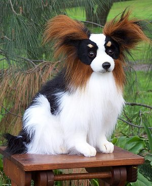stuffed toys - Stuffed Papillion - Dogs