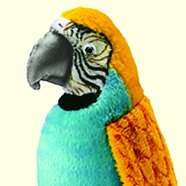 stuffed toys - Stuffed Parrot - Birds