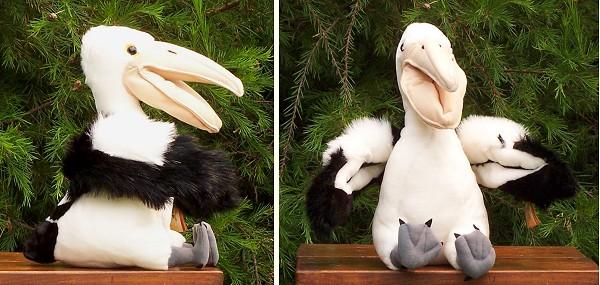 stuffed toys - Stuffed Australian Pelican - Birds