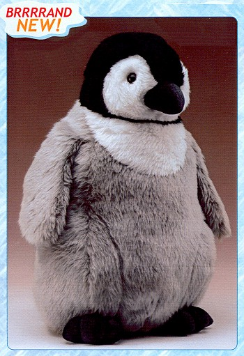 Wildlife Artists Life Size Plush Emperor Penguin Chick