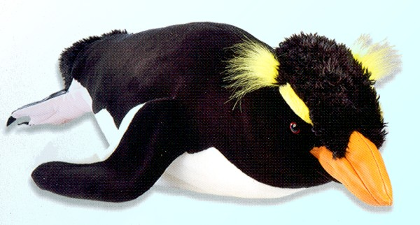 618c1574eb73 Stuffed Plush Rockhopper Penguin from Stuffed Ark