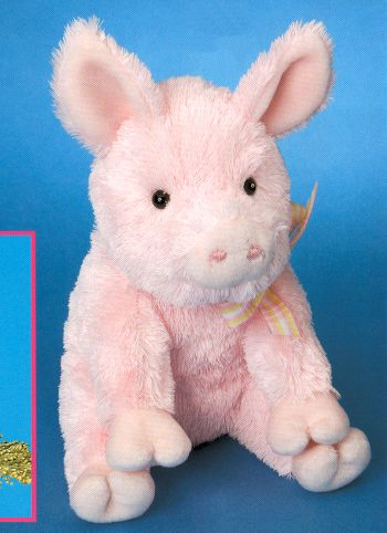 Clover Stuffed Plush Pig