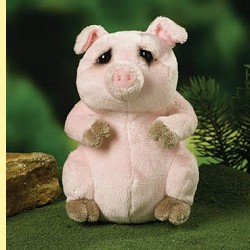 Stuffed Mini Pig by Lou Rankin