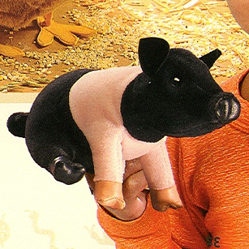 Stuffed Mini Pig