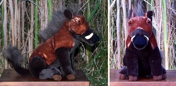 Stuffed Visayan Warty Pig