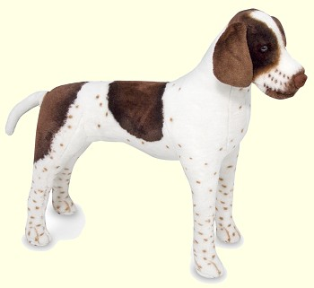 Stuffed English Pointer