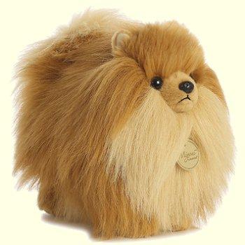 stuffed toys - Stuffed Pomeranian - Dogs