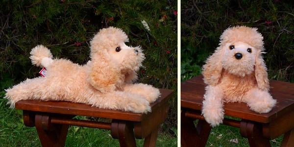 stuffed toys - Stuffed Poodle - Dogs
