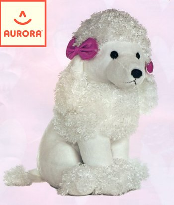 stuffed toys - Stuffed Poodle - Dogs