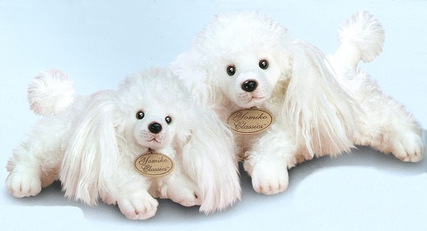 Russ Berrie Yomiko Classic White Poodles