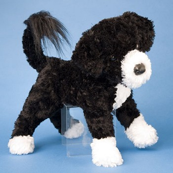 Portuguese Water Dog Puppy. Stuffed Portuguese Water Dog