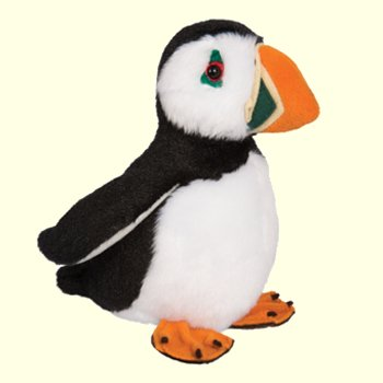 Stuffed Puffin