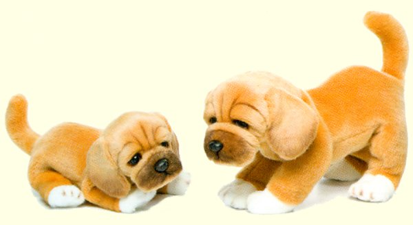 Small Puggle Stuffed Animal