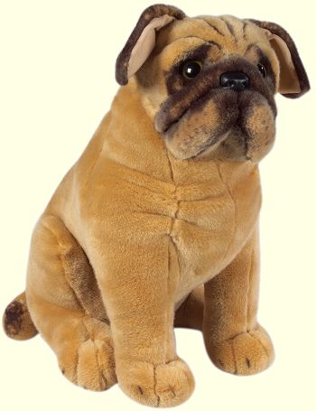 stuffed toys - Stuffed Pug - Dogs