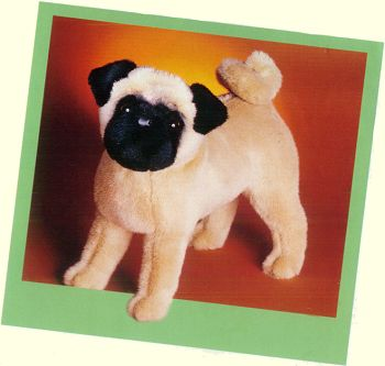 Rocky the Pug Stuffed Animal