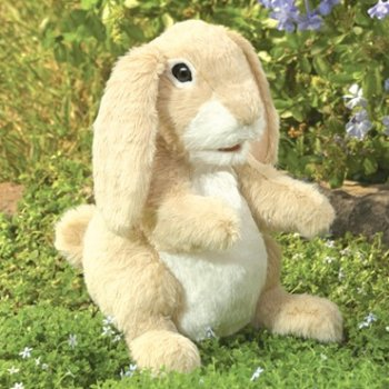 Folkmanis niffing Rabbit Hand Puppet