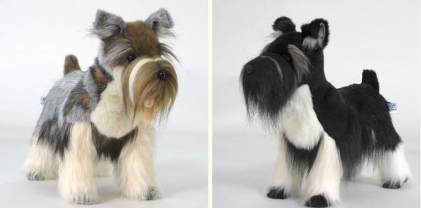 stuffed toys - Stuffed Schnauzer - Dogs
