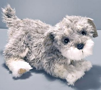 Stuffed Plush Schnoodle Handbag