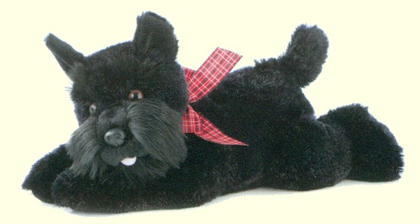 stuffed toys - Stuffed Scottie - Dogs