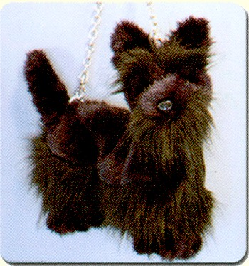 stuffed toys - Scottie Handbag - Dogs