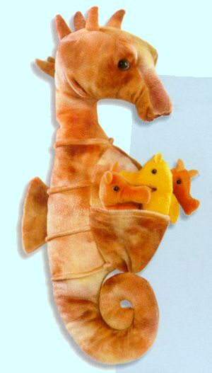 Stuffed Sea Horse