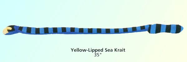 Stuffed-Yellow-Lipped-Sea-Krait