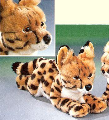 stuffed toys - Stuffed Serval - Monkeys
