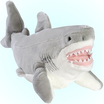 Stuffed Plush Great White Shark From Stuffed Ark