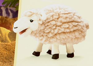 Stuffed Woolly Sheep