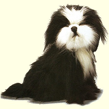 Stuffed Shih Tzu