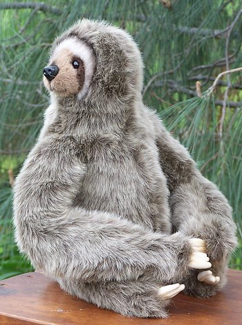 Plush Three Toed Sloth Stuffed Animal