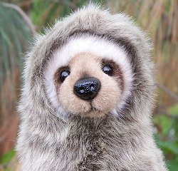 Hansa Stuffed Plush Sloth