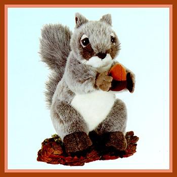 Stuffed Gray Squirrel