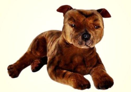 Bocchetta Plush Staffordshire Terrier Stuffed Animal