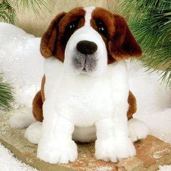 Saint Bernard Stuffed Animal