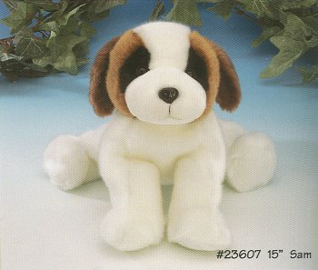 Stuffed Saint Bernard
