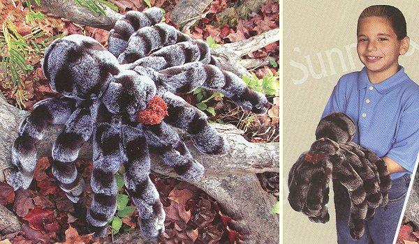stuffed toys - Stuffed Tarantula - Bugs