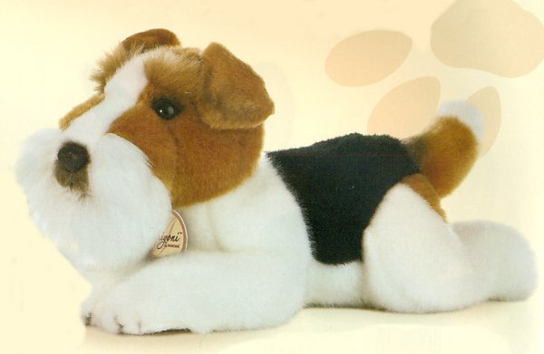 Stuffed Fox Terrier