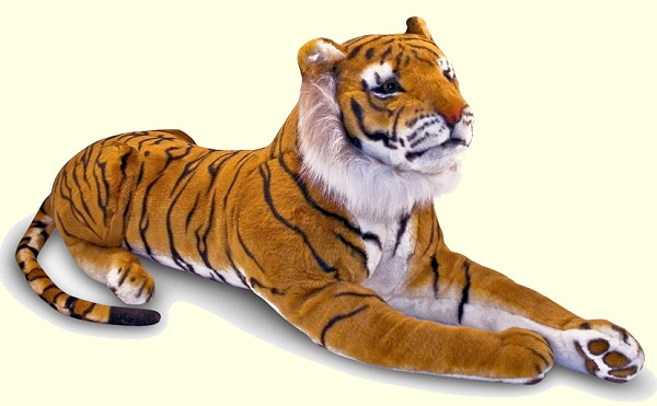 Stuffed Bengal Tiger
