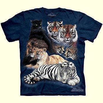 stuffed toys - Big Cat T-Shirt - Jungle Cats
