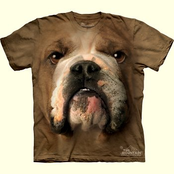 Bulldog-Face-T-Shirt