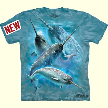 Narwhal T-Shirt from The Mountain