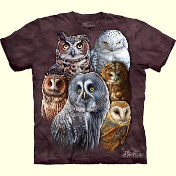 stuffed toys - Owl T-Shirt - Birds