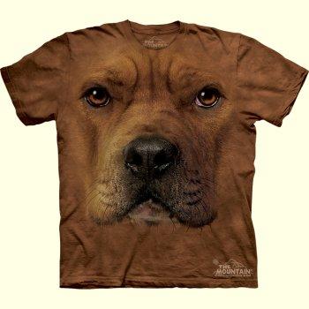 Pit Bull Face T Shirt Plush Stuffed Animal Toys Pit Bull Face T
