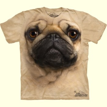 Pug T-Shirt from The Mountain