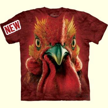 stuffed toys - Rooster Head T-Shirt - Farm Animals