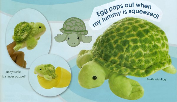 Sea Turtle Mom And Baby Stuffed Animals