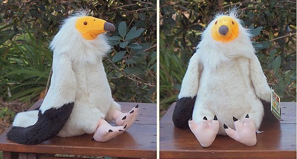 Stuffed-Egyptian-Vulture